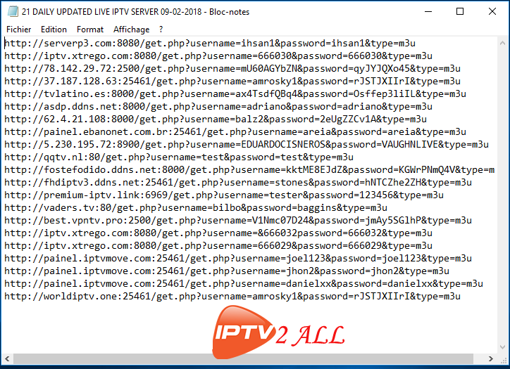 18 ACCOUNTS IPTV SERVER 31-07-2018 | IPTV & CCCAM